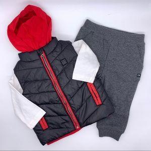 Calvin Klein Jeans Infant's 3pc Set
